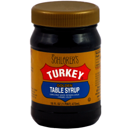 Mrs. Schlorer's Turkey Golden Table Syrup
