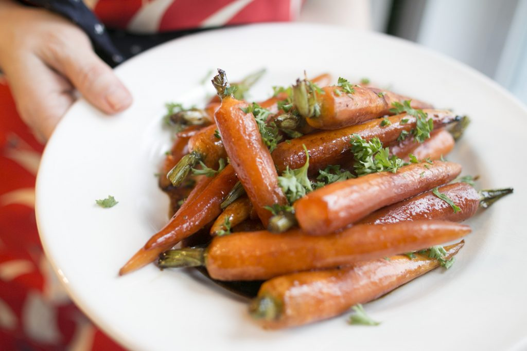 Molasses Glazed Carrots
