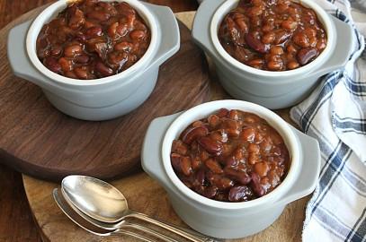 Molasses Baked Beans