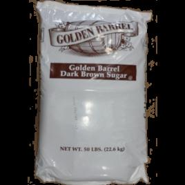 Golden Barrel Dark Brown Sugar 50 Pound Bag