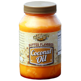 Golden Barrel Butter Flavored Coconut Oil 32 oz.