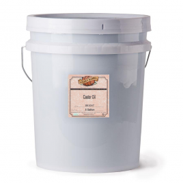 Golden Barrel Castor Oil Pail