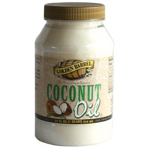 Golden Barrel Coconut Oil 32 oz.