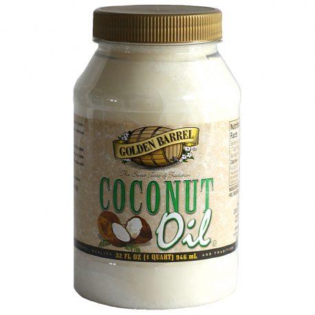Golden Barrel Coconut Oil 32 oz.