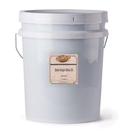 Golden Barrel Extra Virgin Olive Oil Pail