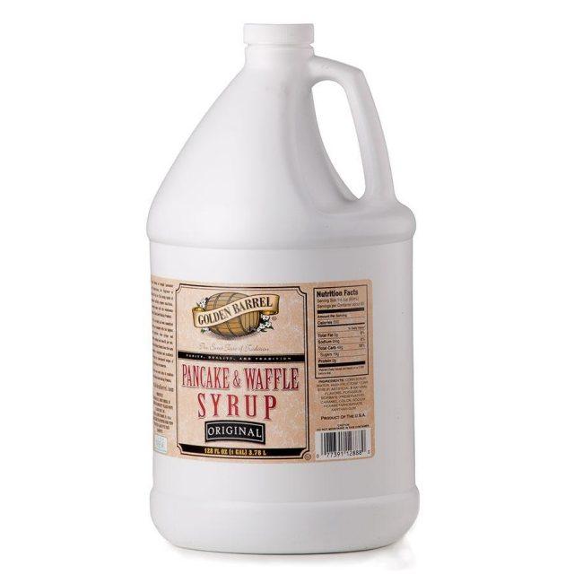 Golden Barrel Pancake & Waffle Syrup (Gallon Jug)