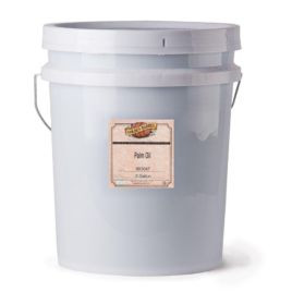 Golden Barrel Palm Oil (5 Gallon Pail)