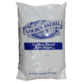 Golden Barrel Raw Sugar 50 Pound Bag