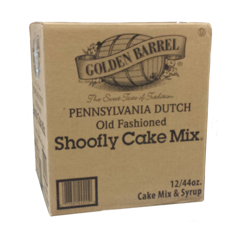 Golden Barrel Shoofly Cake Mix Case