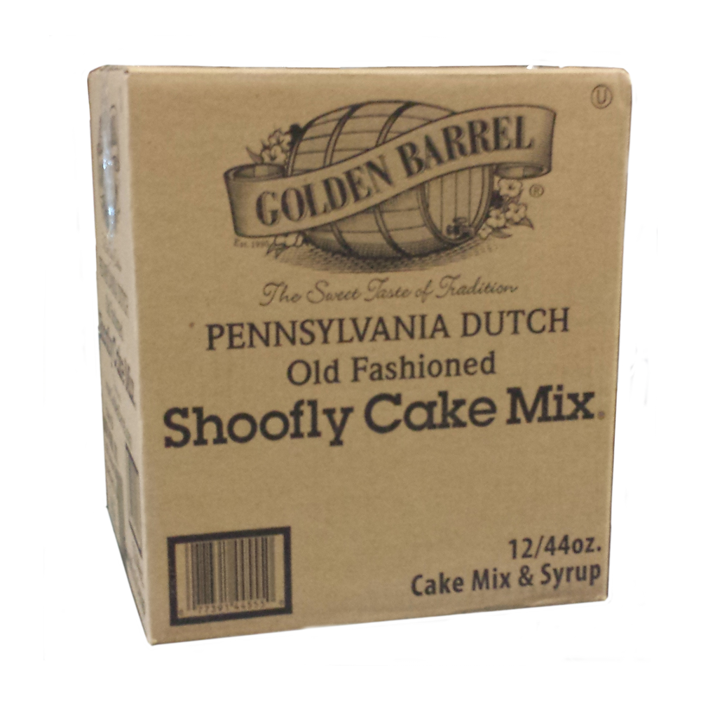 Golden Barrel Shoofly Cake Mix (1 Case/12 Boxes)