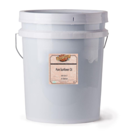 Golden Barrel Sunflower Oil 5 Gallon Pail