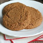 Zookies Molasses Cookies on a Plate