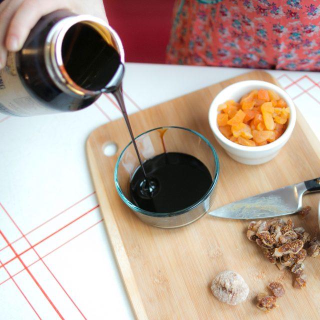 Molasses Pouring into a Bowl