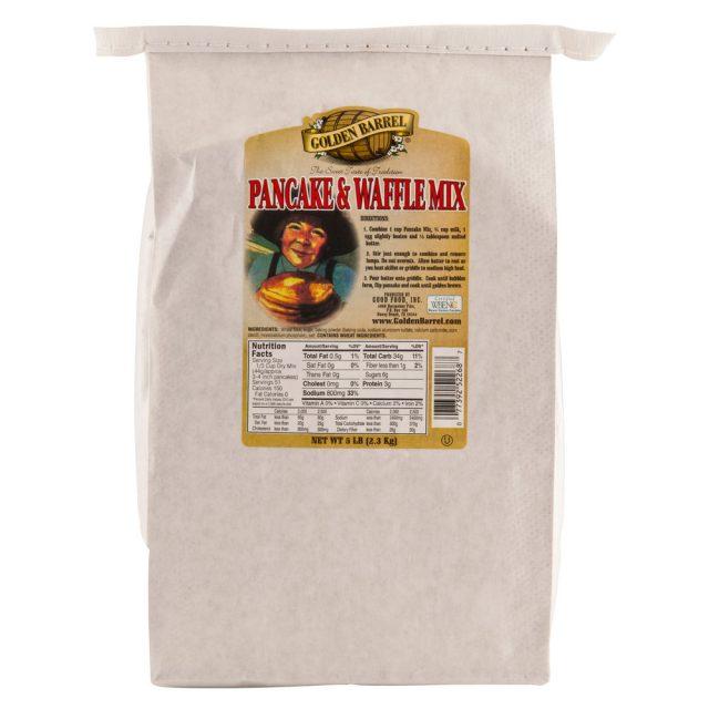 Golden Barrel Pancake Mix in a 5 lb Bag