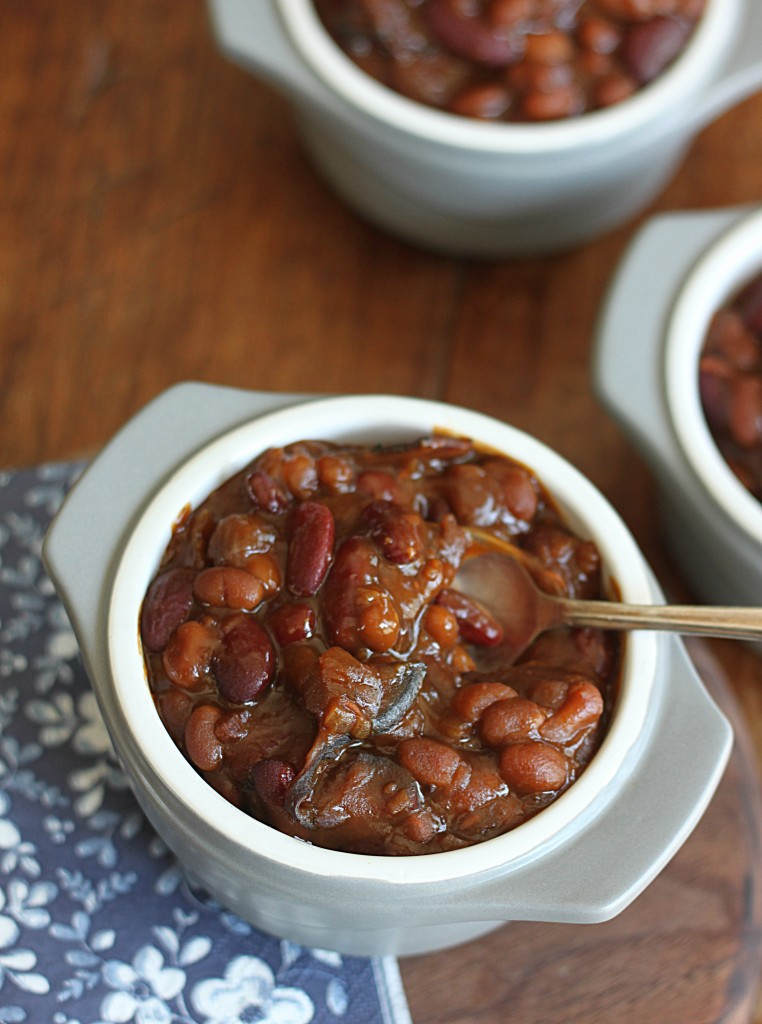 Blackstrap Molasses Baked Beans