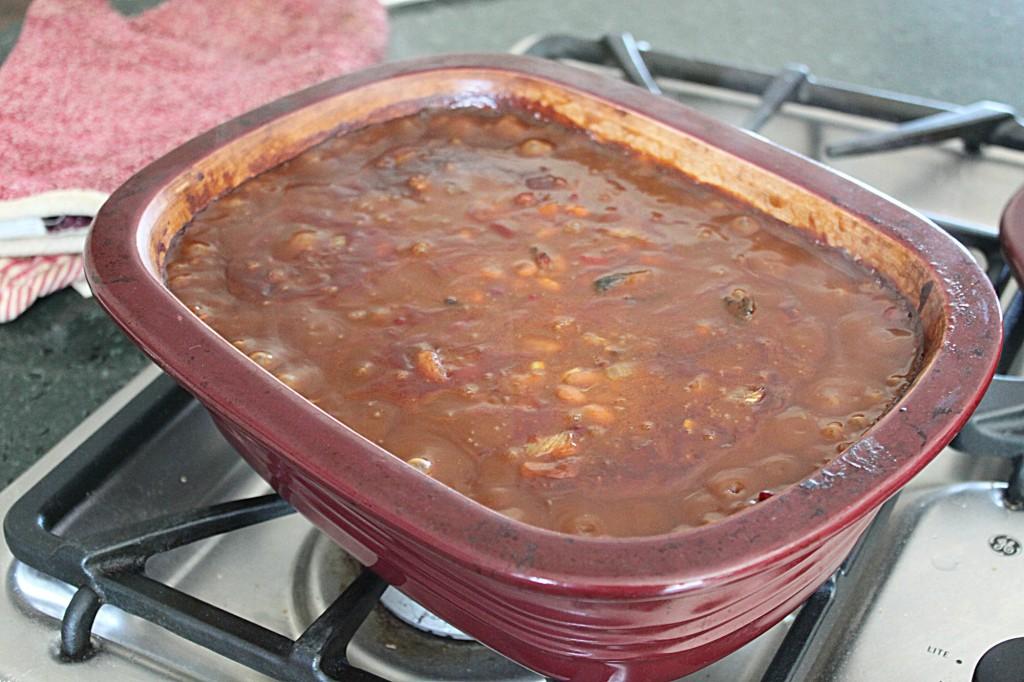 Blackstrap Molasses Baked Beans