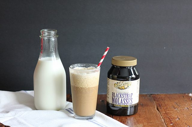 Healthy Blackstrap Molasses Milkshake
