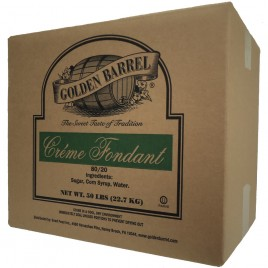 Case of Golden Barrel Creme Fondant 80/20