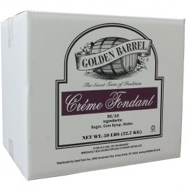 Golden Barrel Creme Fondant 90/10 50 lb. Case