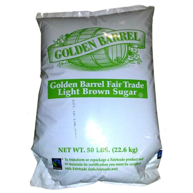 fair trade bulk light brown sugar
