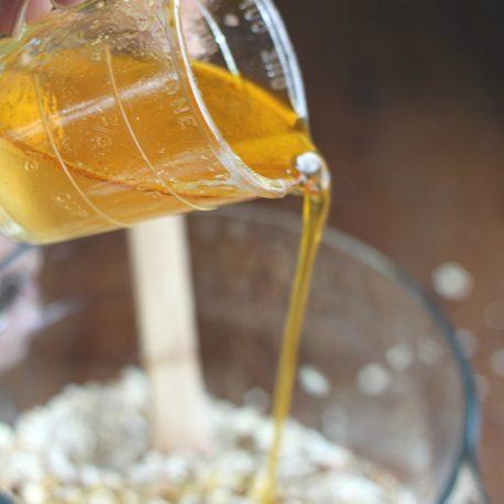 Melted Golden Barrel Butter Flavored Coconut Oil