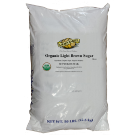 Bag of Golden Barrel Organic Light Brown Sugar