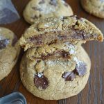 Wholesome and Decadent Chocolate Chip Cookies