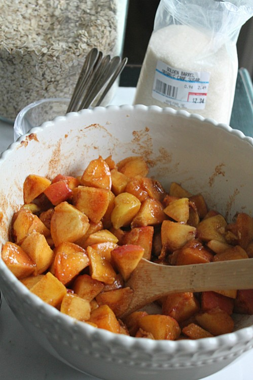 Peaches and Golden Barrel Organic Cane Sugar