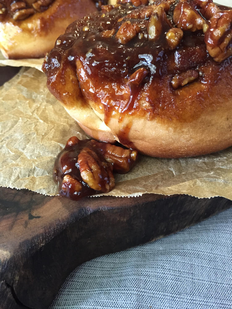 Sticky Buns made with Golden Barrel Ingredients