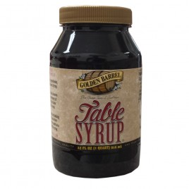 Golden Barrel Table Syrup 32 oz jar