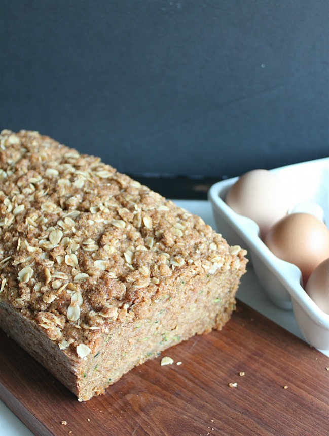 Zucchini Bread made with Golden Barrel Coconut Oil