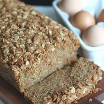 Zucchini Bread {Made with Coconut Oil}