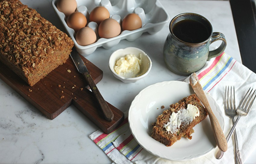 Zucchini Bread made with Golden Barrel Ingredients