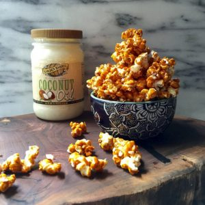 Makes Dairy Free Caramel Corn