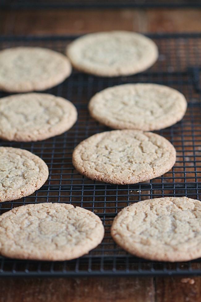 Brown Butter Brown Sugar Cookies