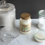 Ingredients for Coconut Oil Pie Crust