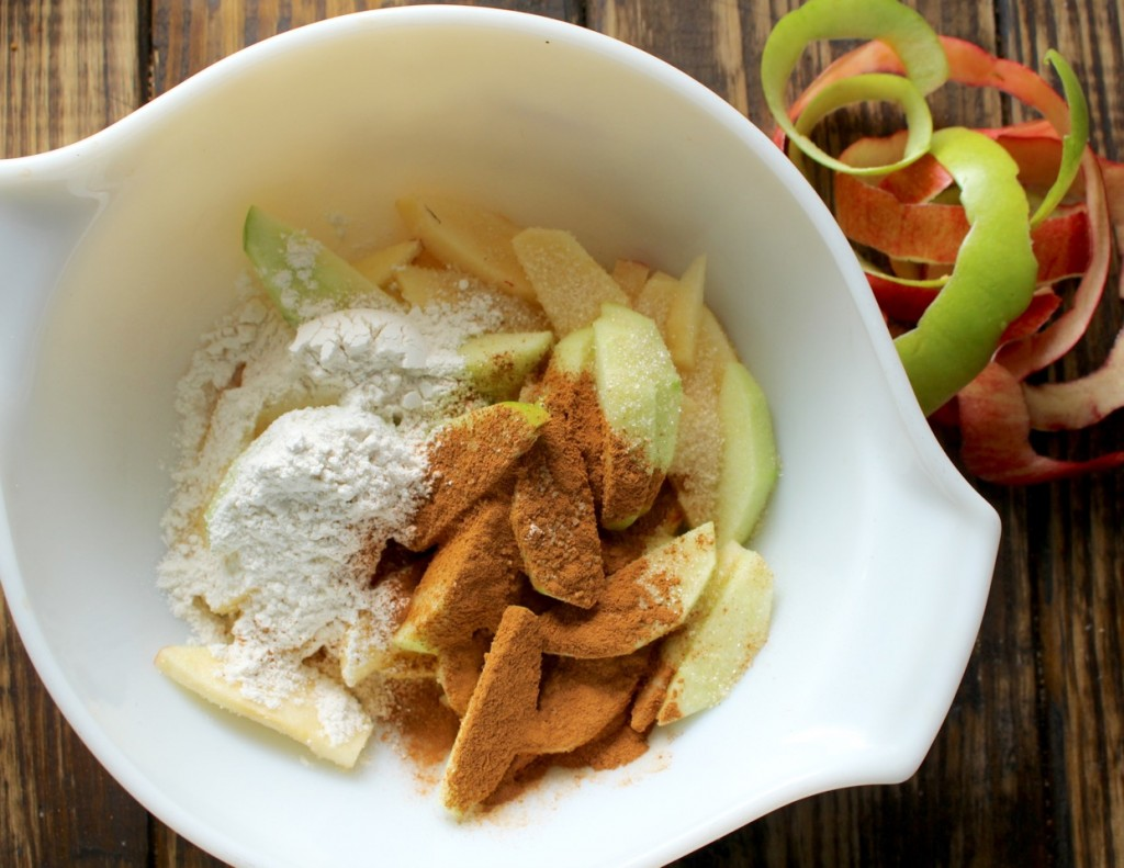 Apples and other Ingredients for Apple Crumb Bars