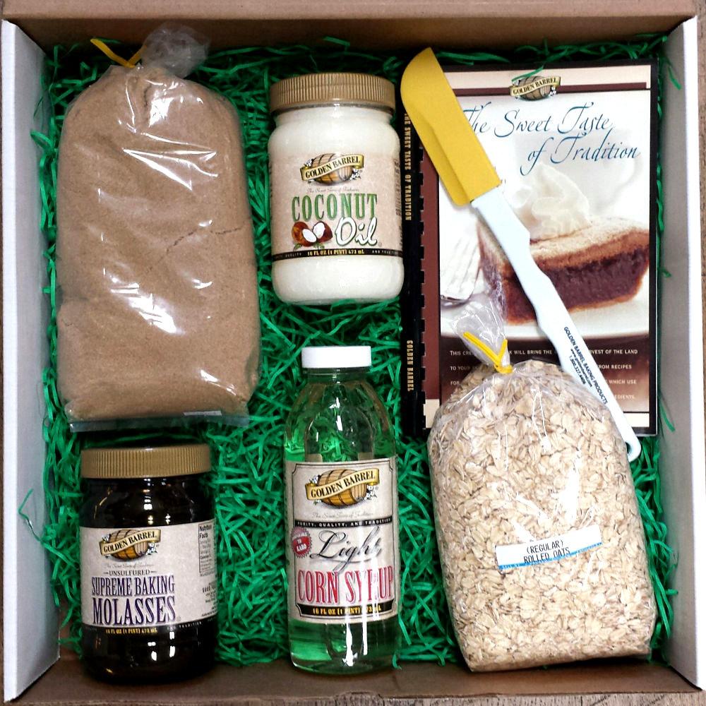 Baking Gift Box - Golden Barrel