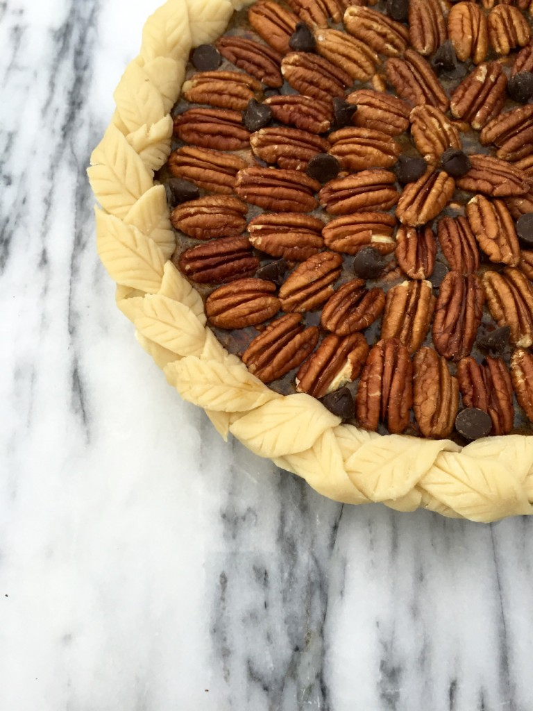 Maple Dark Chocolate Pecan Pie - Golden Barrel