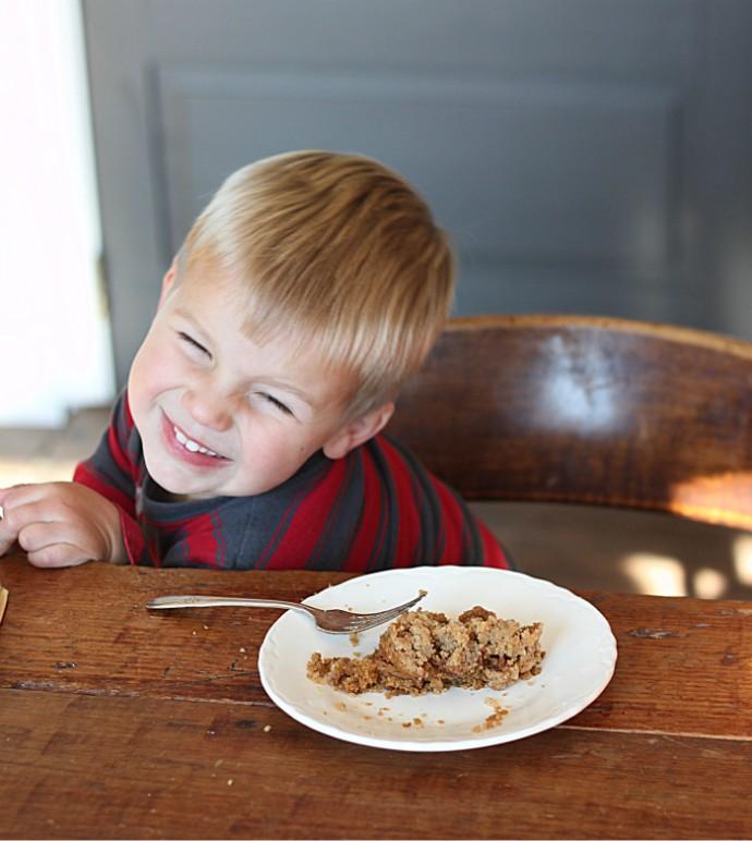 Kids love Golden Barrel Shoofly Cake