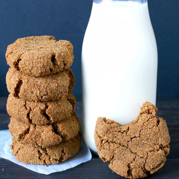 Paleo Gingersnaps - Dairy Free and Gluten Free