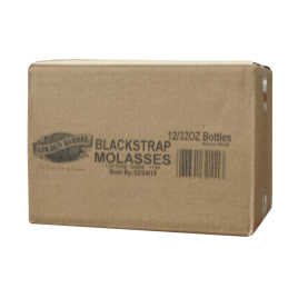 Case of Golden Barrel Blackstrap Molasses 16 fl. oz. NM