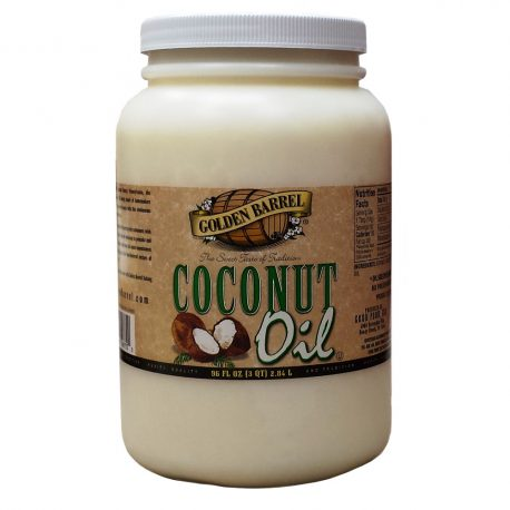 Golden Barrel Coconut Oil 96 fl. oz. Jar