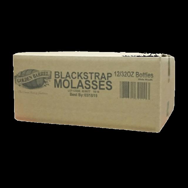 bulk case of blackstrap molasses