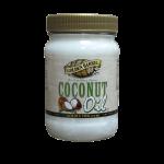 Golden Barrel Coconut Oil in 16 fl. oz. jar
