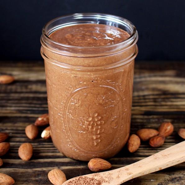 Homemade chocolate Almond Butter