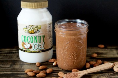 Chocolate Nut Butter (made with Coconut Oil)