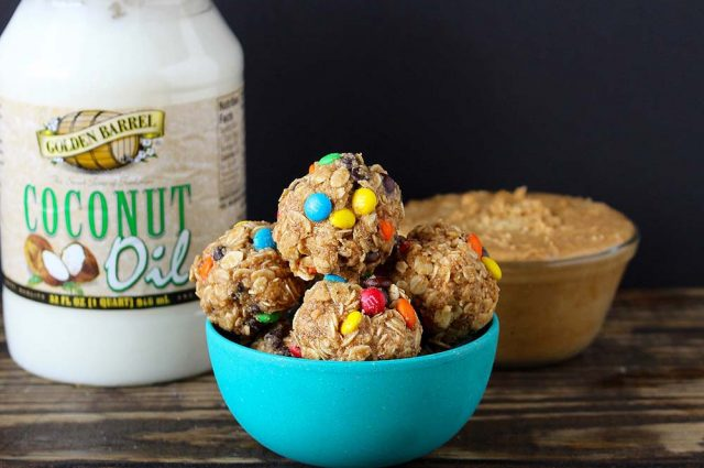 Peanut Butter Oatmeal Balls - Golden Barrel