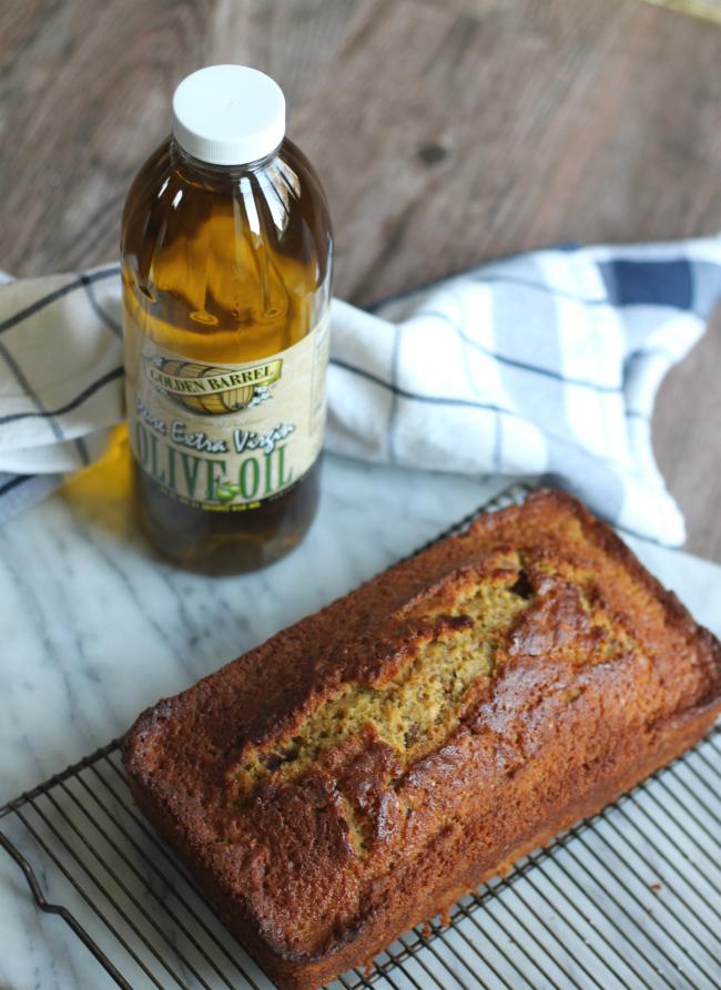Blood Orange Olive Oil Cake made with Golden Barrel Extra Virgin Olive Oil