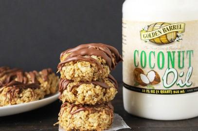 Chocolate Coconut Lovers Cookies